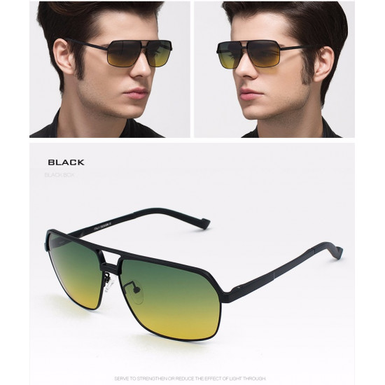 Day/Night Dual-Purpose Polarized Sunglasses #8549
